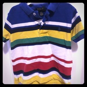 Polo boy's polo shirt, 2T.